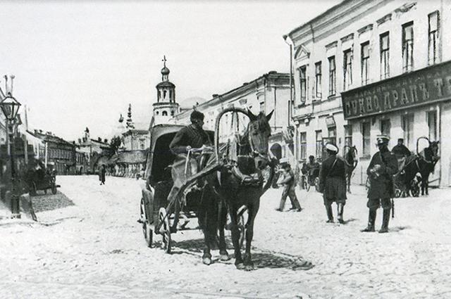 Улица Большая Проломная (сейчас улица Баумана).