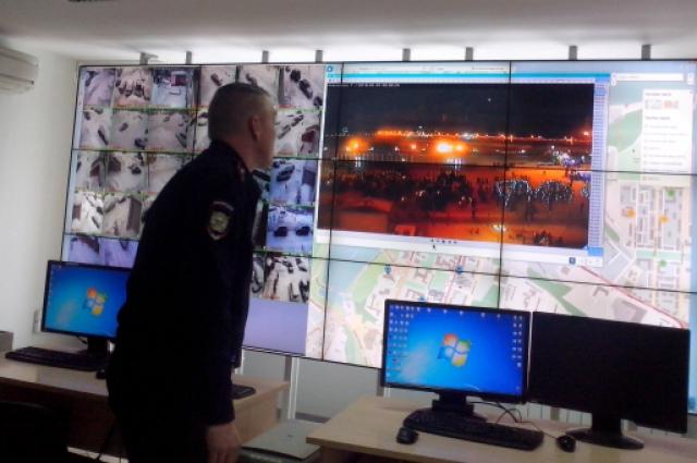 камеры наружного видеонаблюдения, центр управления нарядами УМВД России по Чебоксарам