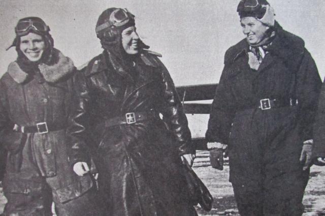 Летчицы По-2.