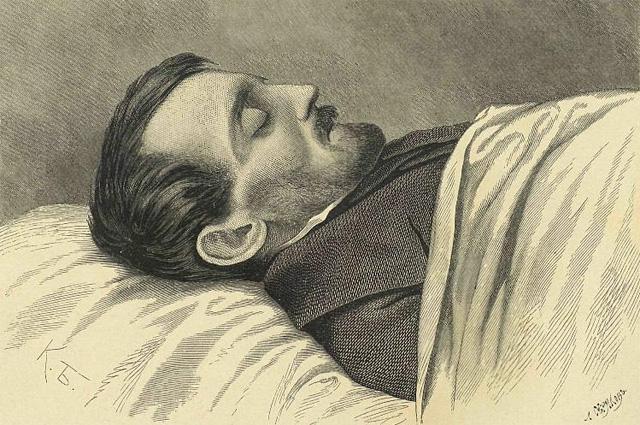 Белинский на смертном одре. 26 мая (7 июня) 1848 года