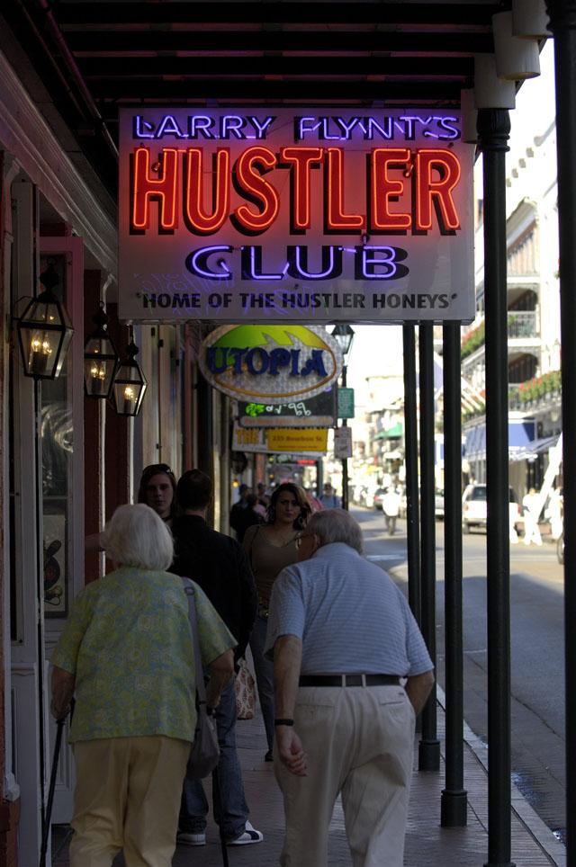Клуб  «Hustler».