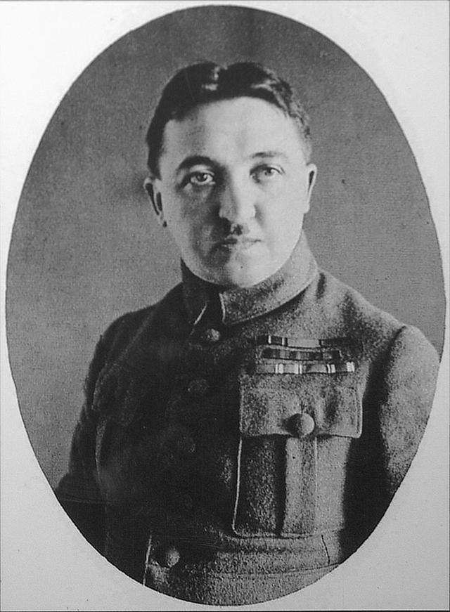 Капитан чешской армии Станислав Чечек.