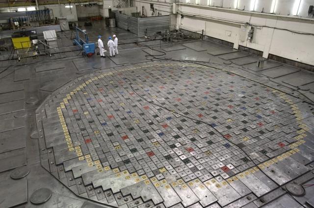 Ядерный реактор на ЛАЭС работает исправно.