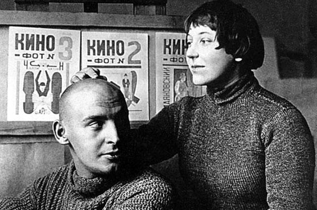 Варвара Степанова и Александр Родченко.