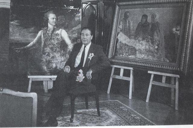 Картину Дмитрия Левицкого меценат нашел в подвале дома в Америке.