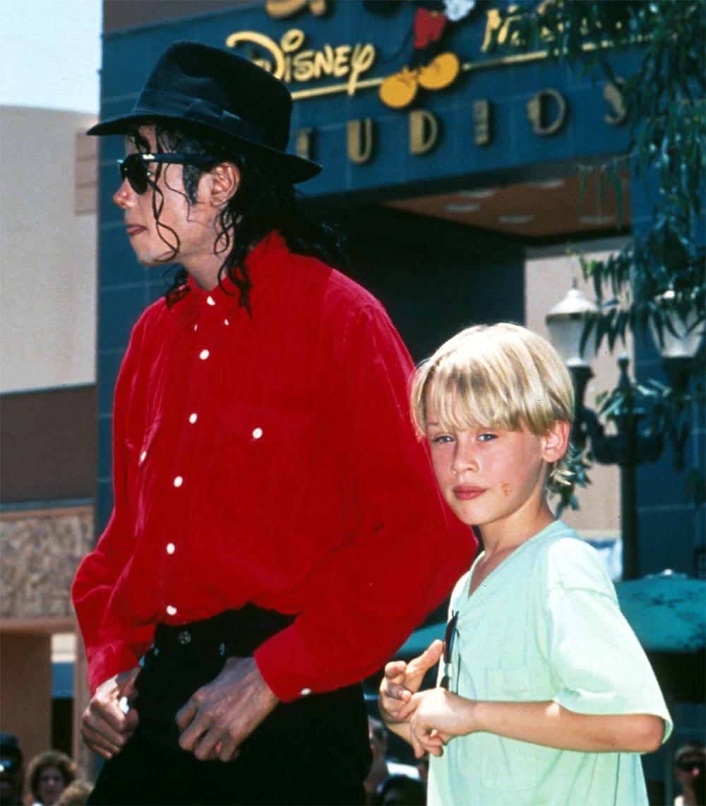Майкл Джексон и Маколей Калкин.
