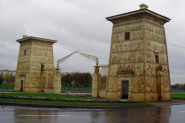Египетские ворота в Царском Селе.