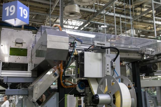 Новое оборудование для системы цифровой маркировки на фабрике «Донской табак» в Ростове-на-Дону
