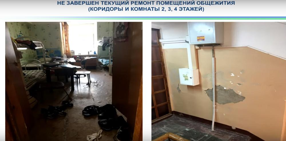Состояние общежития БашГУ