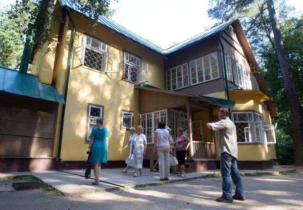 Дом-музей писателя Корнея Чуковского в Переделкине