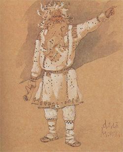 Дед Мороз, В. М. Васнецов, 1885