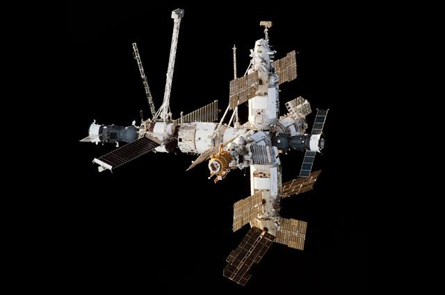 Орбитальный комплекс Союз-ТМ-26 Мир Прогресс-М-37 29 января 1998 года