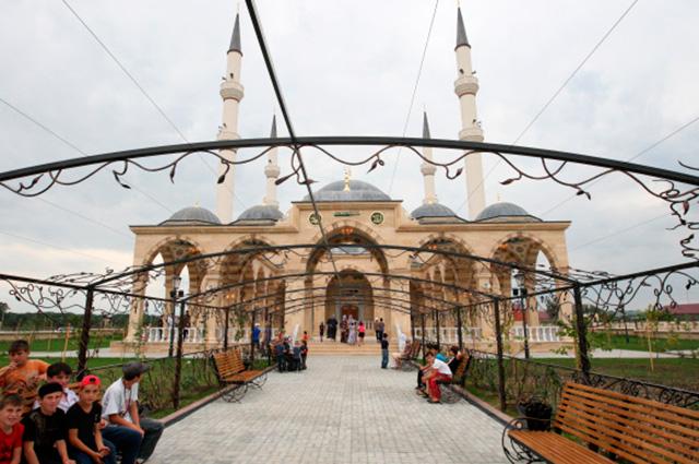 Мечеть имени Султана Делимханова