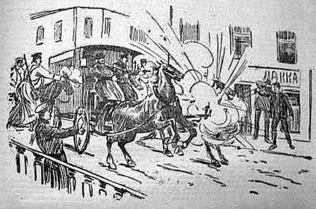 Рисунок из газетной заметки