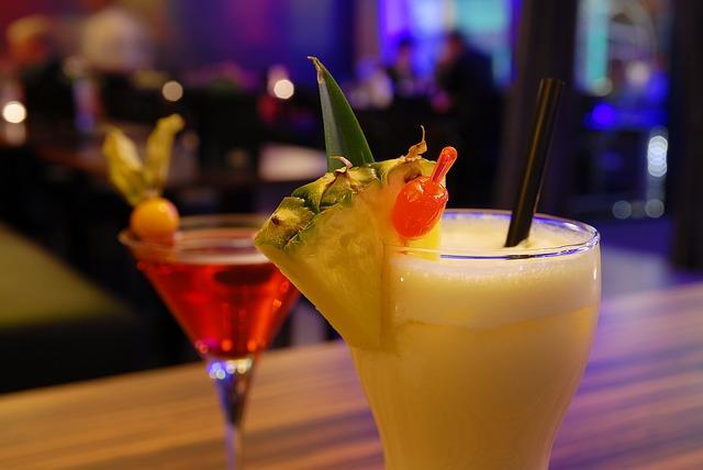 бар, коктейль, алкоголь, напиток