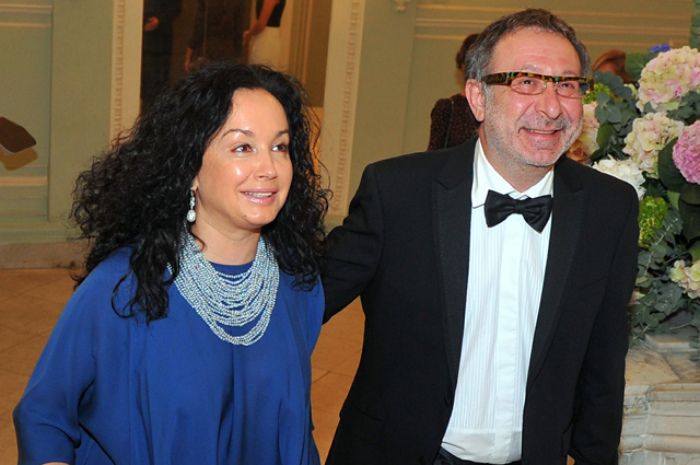Евгений Маргулис с женой Анной.