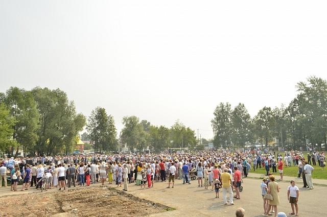 Митинг в Куеде 23 июля.