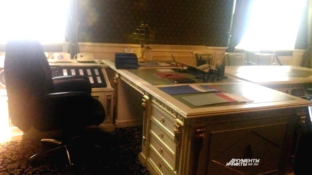 Кабинет президента в Ельцин-центре. Оригинал.