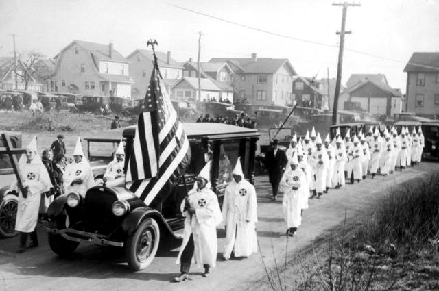 Ку-клукс-клан в штате Нью-Йорк, 1924 год.