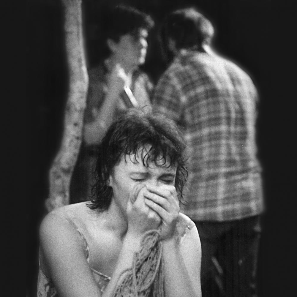 В молодости актриса играла в Театре поэзии.