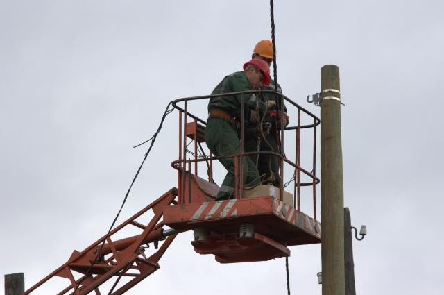 В Чайковском электричество подвели к 300 участкам, выделенным многодетным семьям.
