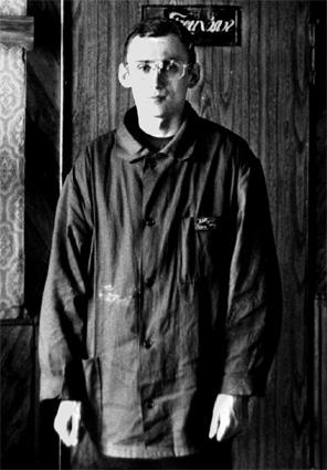 Заключённый Иоанн-Петр ІІ (В.Ковальчук), один из лидеров Великого Белого Братства в исправительной колонии № 19 в Луганской области/