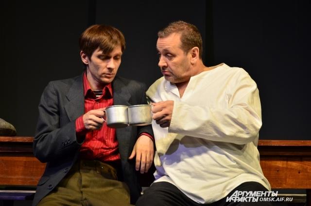 Игорь Малахов (справа) - режиссёр и актёр.