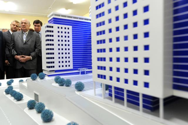 Экспозиция по проекту актуализированного Генерального плана Москвы на период до 2025 года. Август 2009 г.