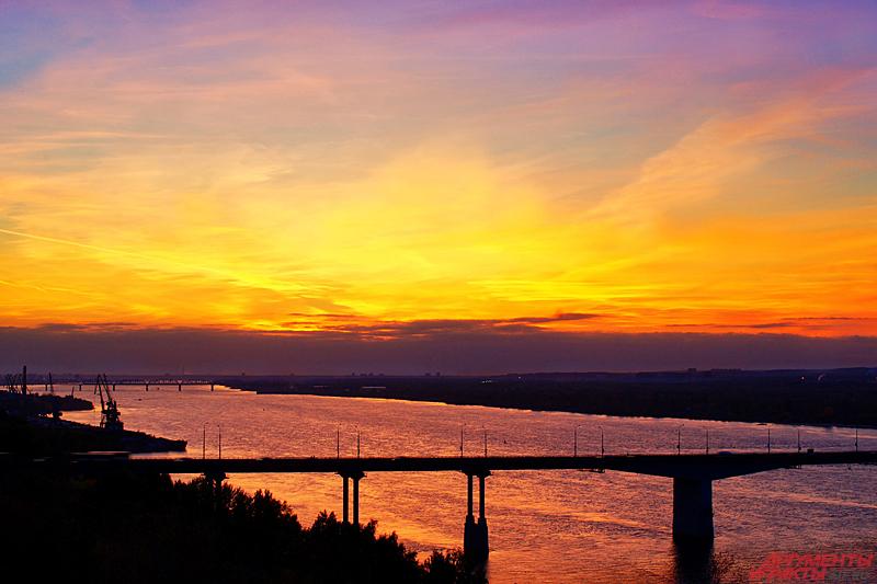 Камский мост в Перми