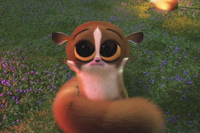 Лемур из мультфильма Мадагаскар