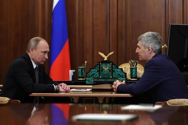 Владимир Путин перед назначением встретился с Артуром Парфенчиковым
