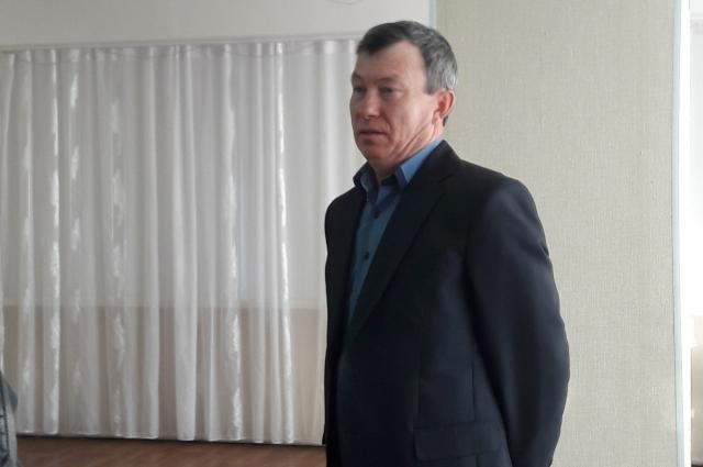 Лучший водитель почтовой связи Сибирского округа 2017 года Вячеслав Войтенко.