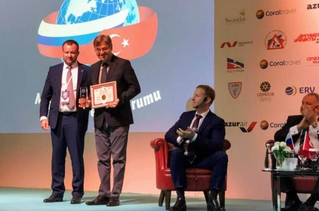 Самые достойные отельеры получили награды от Ростуризма.