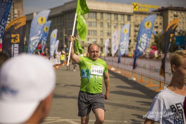 сибирский фестиваль бега забег полумарафон раевича