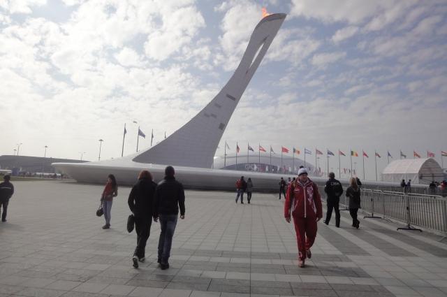 Имеритинская низменность, Олимпийский парк, 2014 год.