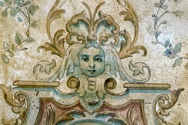Элемент потолочной росписи.