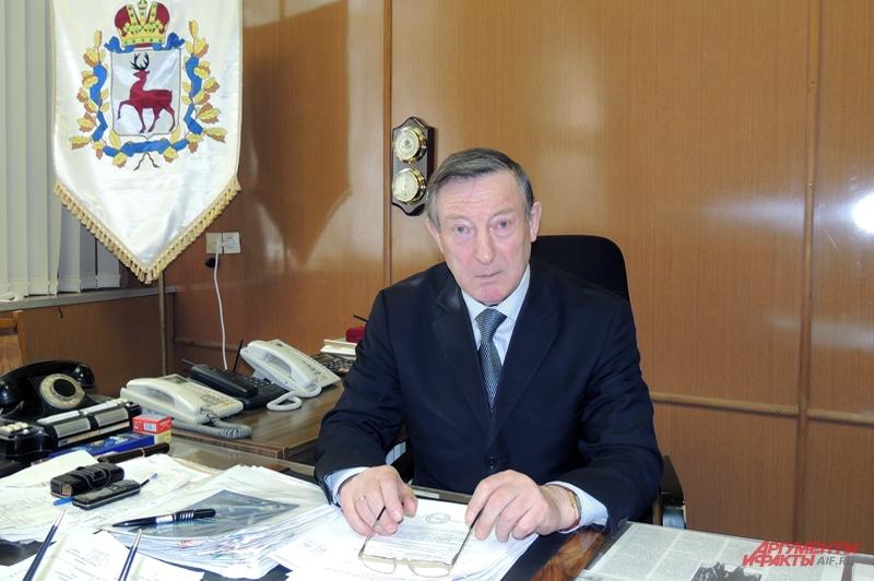 Генеральный директор предприятия Владимир Шеваров