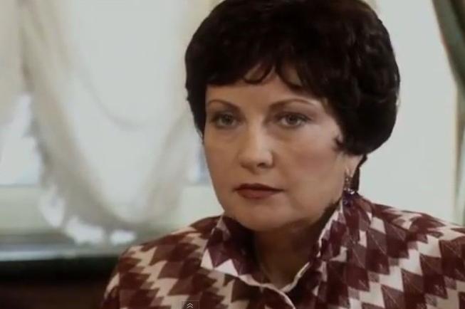 Лилия Макеева в фильме «Валерий Харламов. Дополнительное время», 2006 г.