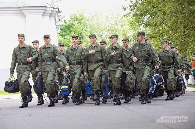 Большинство новобранцев останется служить на Камчатке.