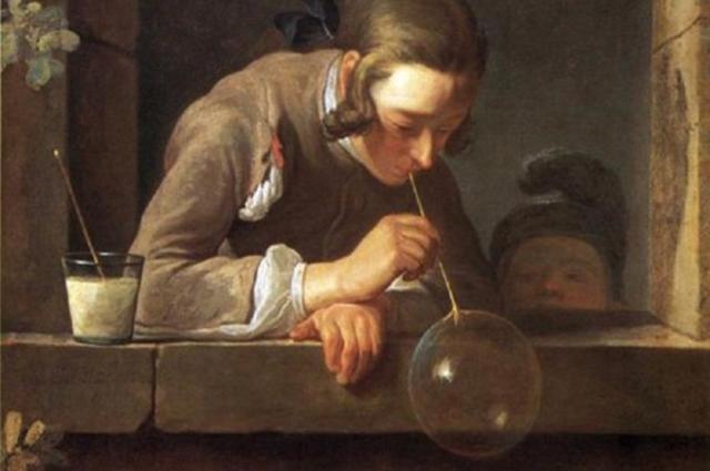 Мыльные пузыри, Жан-Батист Симеон Шарден, 1734 г