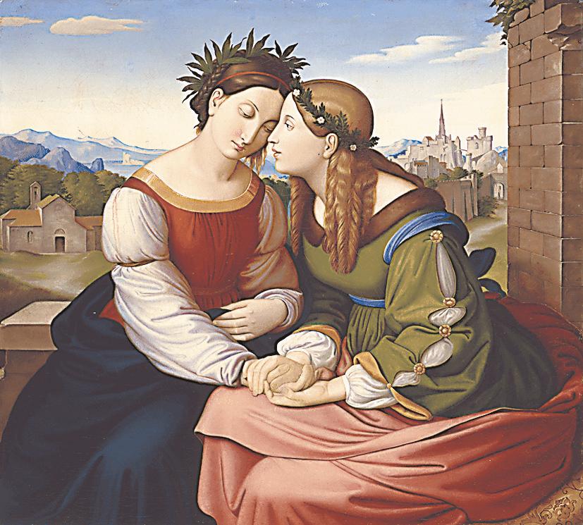 Фридрих Овербек. «Италия и Германия». 1811–1828 гг.
