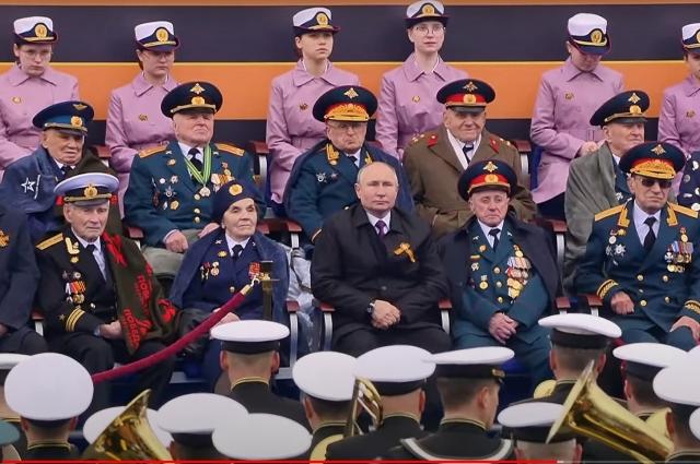 Парад Победы в Москве, 9 мая 2021.