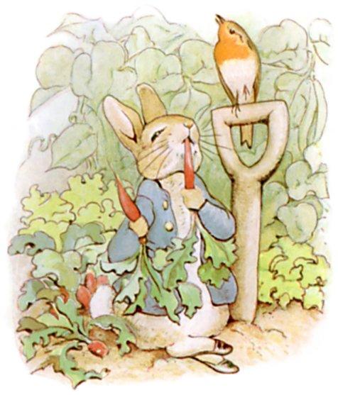 Беатрис Поттер. Кролик Питер.