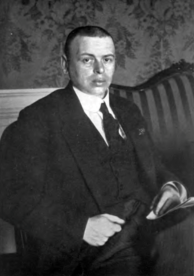 Венгерский коммунист Бела Кун.