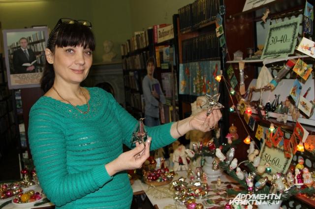 Библиотекарь Новочеркасска Лариса Семёнова: «Ёлочные игрушки рассказывают об истории нашей страны!»