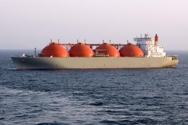 танкер сжиженный газ