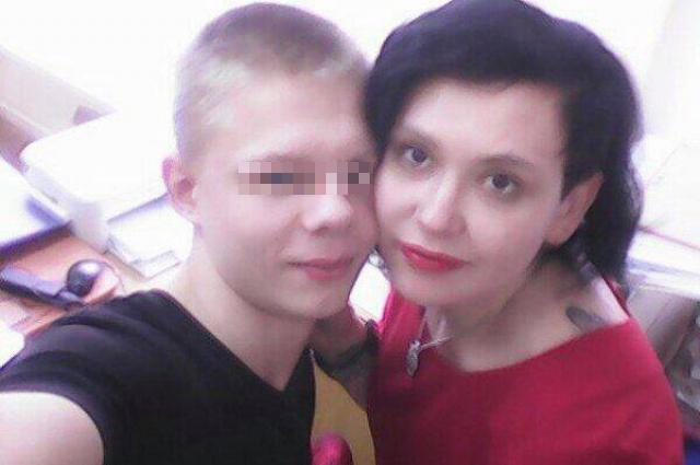 Ангелина Дорофеева и Алексей.