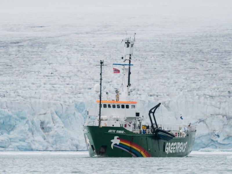 Анастасия выиграла недельную экспедицию в Арктику.