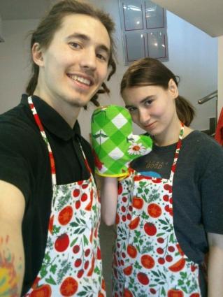 Ион и Дарья Круду открыли вегетарианское кафе в Ханты-Мансийске весной этого года.