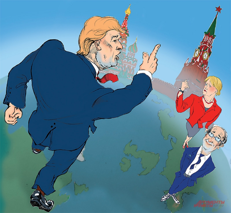 Трамп был готов сделать шаг навстречу Москве. Но помешать ему в этом могут не столько уходящие европейские лидеры, вроде Меркель и Олланда, сколько мощные силы внутри США,